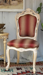 Chaise Baroque dore or